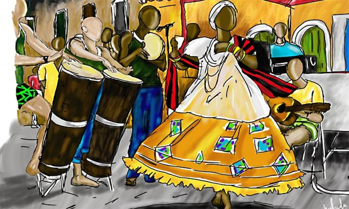 Afro-Brazilian Music and Dance: Jongo Rhythm – Comboni