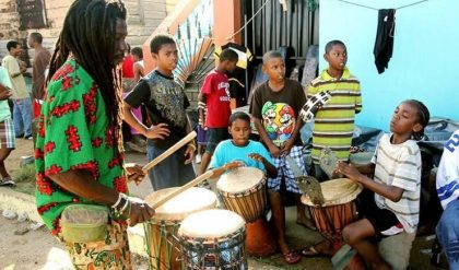 Central America: The Garinagu, The art of drum-making   Comboni Missionaries